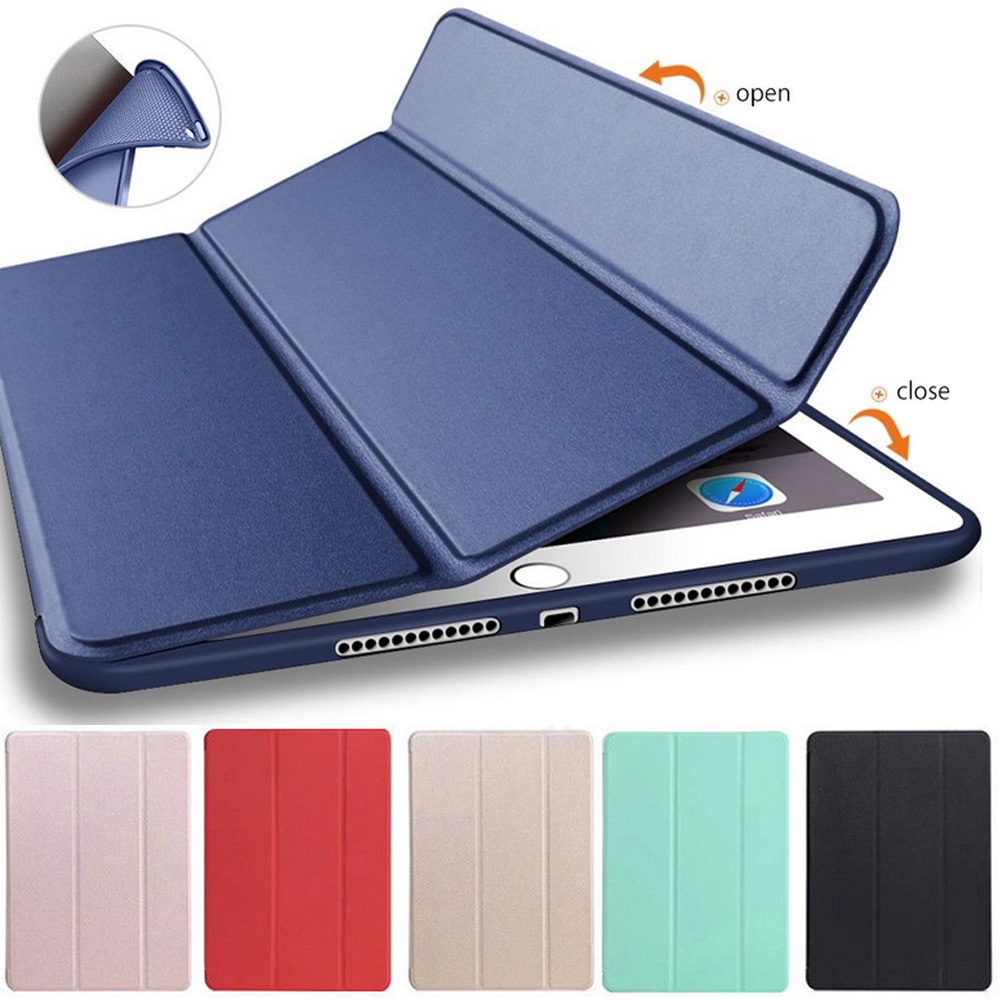 for iPad 2017 5th A1822 A1823/2018 6th A1893 A1954 Cover Full Package Slim Soft Shell for Apple iPad 2017 Case 9.7 inch Cover