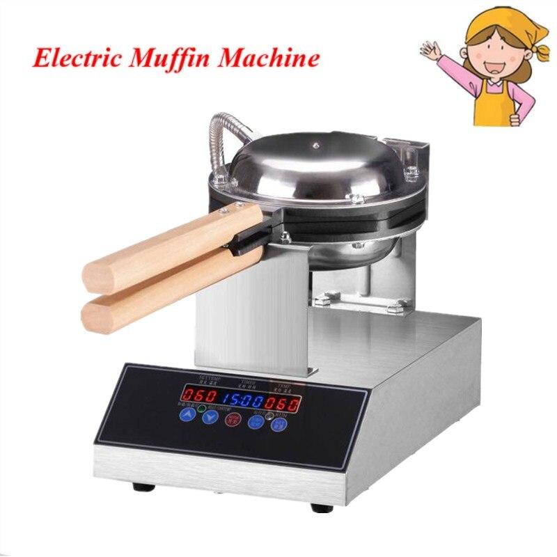New Design Electric Eggettes Maker QQ Egg Waffle Maker, Egg Puffs Machine, Rotated Waffle Pan вафельница aurora star eggettes 180 a16