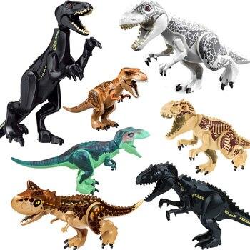 LELE L030 Jurassic Welt Park drachen Bausteine Dinosaurier Figuren Ziegel Spielzeug Tyrannosaurus Indominus Rex Indoraptor kid YG7