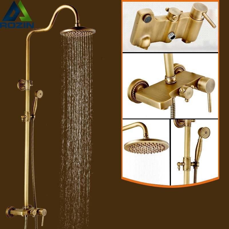 இBest Quality Rainfall 8 Shower Faucet Mixers Single Handle Bath ...