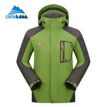 Vente chaude Hommes Randonnée Escalade Vêtements Camping Montagne Sport Manteau Imperméable Coupe-Vent Ski D'hiver En Plein Air Veste Avec Polaire