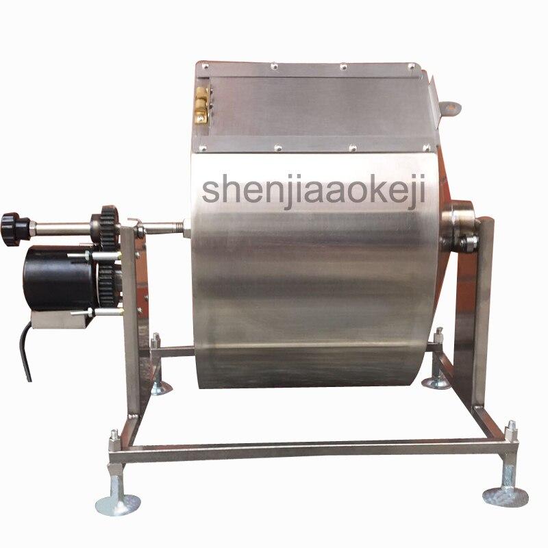 Automatische koffiebrander machine gebakken bonen, roergebakken chili saus, gebakken gierst frituur Huishoudelijke speculatie machine - 5