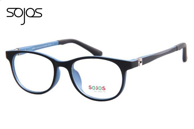 Crianças meninos meninas óculos óculos de adorável crianças TR90 Material macio óculos Occhiali 1104