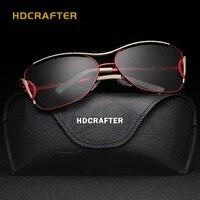 Designer Large Frame Sunglasses Polarized Sunglasses Classic Driving Glasses Women Femininity Free Shipping
