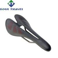 Soul Travel Highway T700 Carbon Fiber Cushion Titanium Bow Seat Bicycle Carbon Carbide Bag 175g