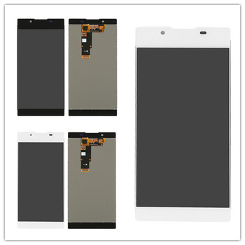 5.5 inch For Sony Xperia L1 G3312 G3311 LCD Display + Touch Screen Digitizer Assembly Free Shipping stable quality touch screen lcd display assembly screen protector for allview v1 viper s4g 5 free shipping