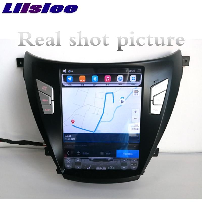 For Hyundai i35 Elantra Avante MD UD 2011~2015 NAVI LiisLee Car Multimedia Player GPS Maps WIFI Audio CarPlay Radio Navigation 4