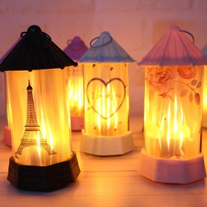 Image 2 - 2019 New LED Simulation Flame Light Night Interior Decoration Party Lamp Halloween Gifts Christmas Room Constellation lamp