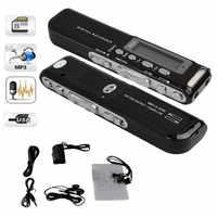 8 GB Digital Voice Recorder Voice Attivato USB Pen Digital Audio Voice Recorder Mp3 player Dittafono Nero gravador de voz