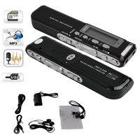 8GB Digital Voice Recorder Voice Activated USB Pen Digital Audio Voice Recorder Mp3 Player Dictaphone Black