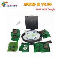 Best сканер Инструменты Xprog V5.84 диагностики автомобиля кабели X Prog M 5,84 X PROG Box ЭКЮ программист x прог с USB Dongle DHL Бесплатная
