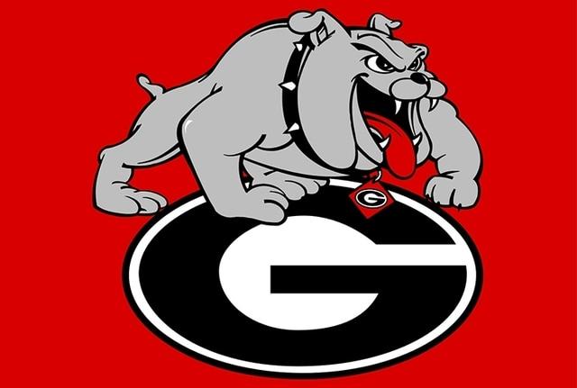 Georgia Bulldogs College Basketball Sport Team Double Side Digital