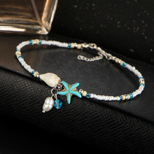 Starfish Sea Shells Charms Women's Ankler