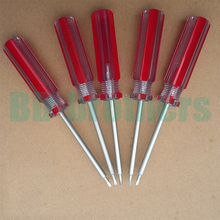 High Quality Triangular screwdriver Chrome-Vanadium Steel Aluminium Magnetic Tools 480pcs/lot(China)