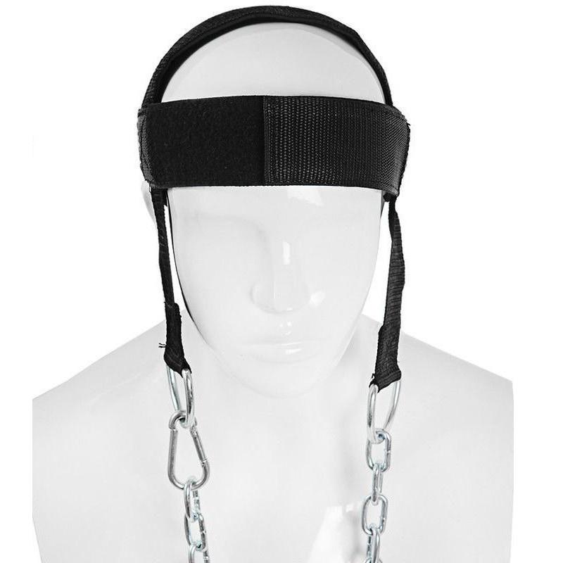 מתכוונן ראש צוואר הרמת אימון לרתום חגורת צוואר משקל הרמת רצועות גוף בניין משקולות תרגיל ציוד כושר