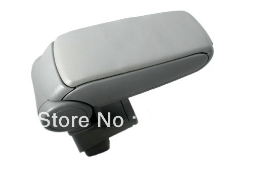Center Console Armrest (Leatherette Grey) For Honda Jazz First Generation 2001-2008