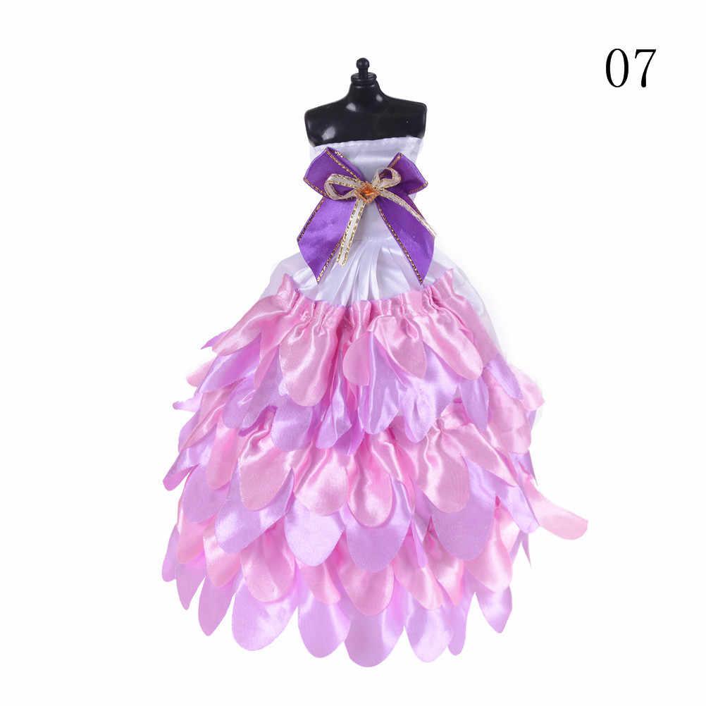 8 цветов элегантные женские модные свадебные платья вечерние платья принцесса милый наряд Одежда для куклы девушки подарок выбрать