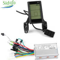 e-bike 24v 36v 48v electric bicycle brushless DC controller 250w 350w 500w  controller USB function LCD Escooter controller 500w