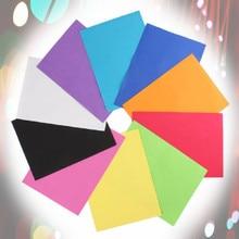 10pcs/bag DIY Sponge Foam Paper wholesale Mixed color Fold Scrapbooking Paper Craft 20*30*0.1cm Thick