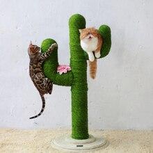 Сизальная веревка для кошачьего дерева, скалолазание для кошек, сделай сам, Когтеточка для кошек, игрушки для изготовления ножек стола, связывающая веревка для кошек, остроконечная коготь