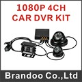 4CH HD Hard Drive Mobile DVR(1080P+WIFI+G-Sensor+hd camera+video cable) FROM Brandoo