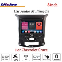 Liislee для Chevrolet Cruze стерео радиоприемник для Android CD dvd плеер BT Wifi gps карта NAV Навигация 1080 P система оригинальный дизайн Navi