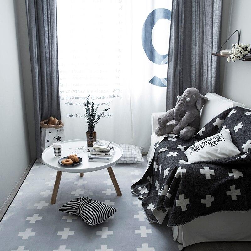 Modern Style Black Cross Carpet ,big Size Living Room Carpet, Rectangle  Ground Mat , Decoration Mat In Mat From Home U0026 Garden On Aliexpress.com |  Alibaba ...