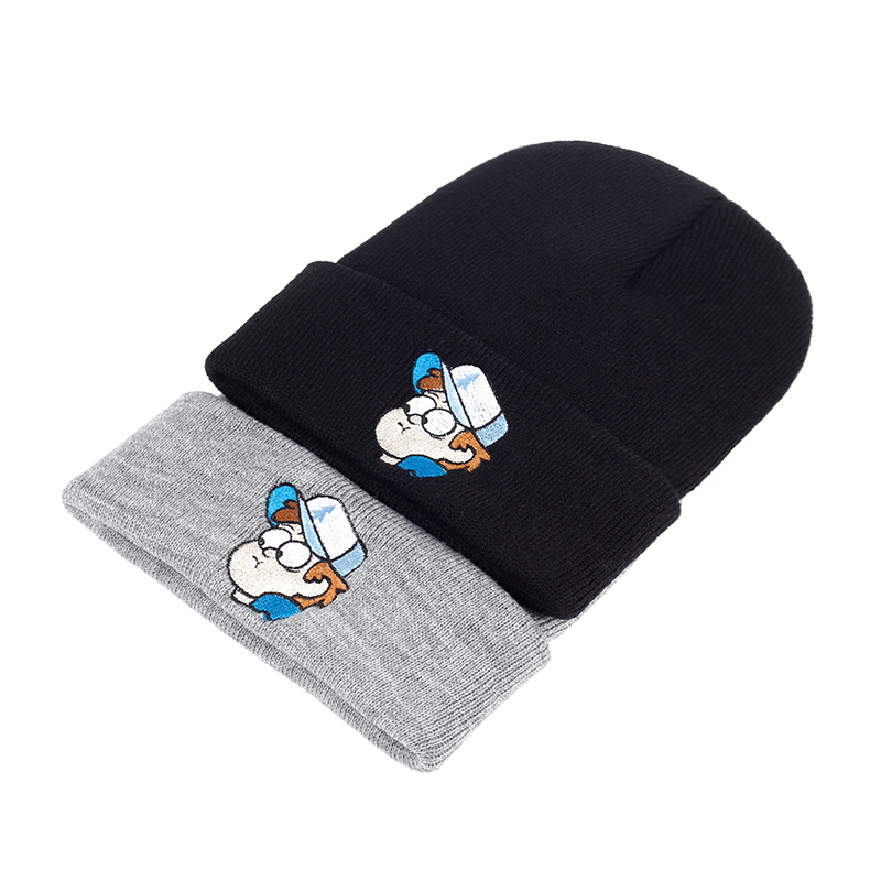 0c382ebd46d Dipper Pines Beanie Unisex Gravity Falls Embroidery Winter