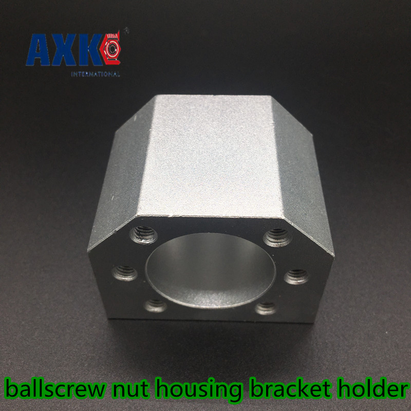 2019 Axk Linear Rail Axk Dsg32h Sfu3205 <font><b>Sfu3210</b></font> Ballscrew Nut Housing For 3205 3210 32mm Ball Screw Bracket Holder Cnc Parts image