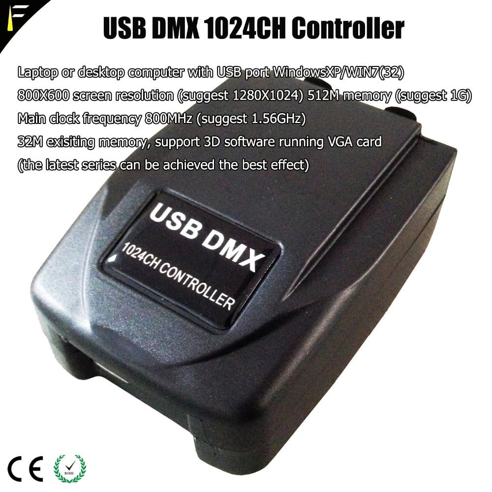 Luz profissional jockey transferência usb dmx 512 interface controlador de computador dmx 1024 console luz dispositivo elétrico construir martin lightjockey - 2
