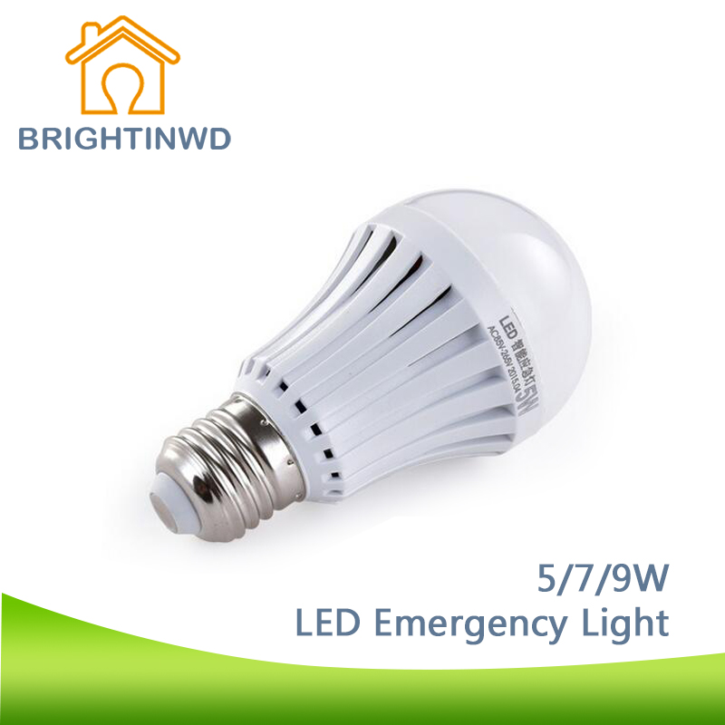 E27 led emergency light household rechargeable amazing intelligent e27 led emergency light household rechargeable amazing intelligent light 5w7w9w power energy saving lamp outdoor lighting bulb in led bulbs tubes from aloadofball Gallery