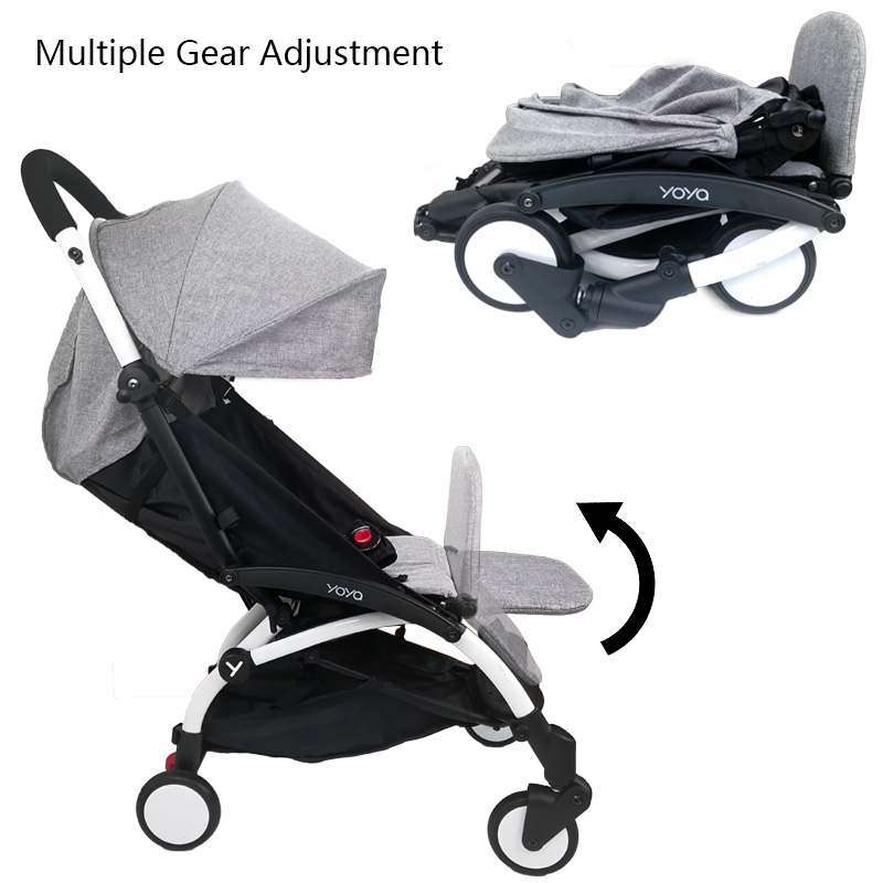Image 3 - Baby Carriage Feet Extend Footboard For Babyzen Yoyo+ Yoya BabyTime Stroller Extend Footrest Pedal Baby Stroller Accessories-in Strollers Accessories from Mother & Kids