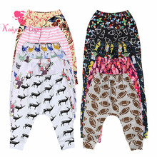 Kaiya Angel Hot Rugby Colored Chicken Usex Cross-pants cotton leggings children's Spring summer autumn winter children pants