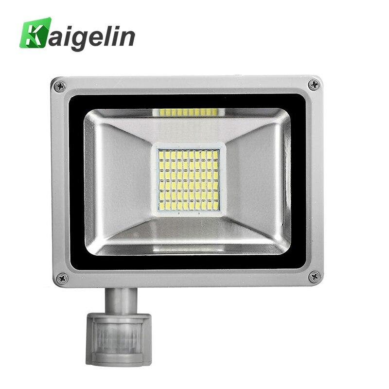 30W AC 220V 240V PIR Motion Sensor LED Flood Light 60 LED SMD 5730 3300LM Spotlight