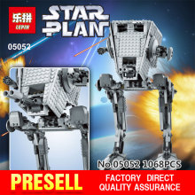 New Lepin 05052 1068pcs Star War Out of print empire AT ST Building Blocks Bricks Model Toys Boys Gifts legeod 75153