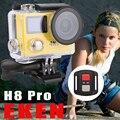4 K/30fps Câmera Esporte Ambarella 1080P120fps A12 Cam Ação HD Camera EKEN H8Pro 12.0 Mega WI-FI Controle Remoto Dupla tela Filmadora Mini