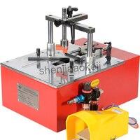 Machine de clouage d'encadrement de bureau V cloueuse pneumatique angle de clou machine cadre machines à ongles 0.6-0.8Mpa 1pc