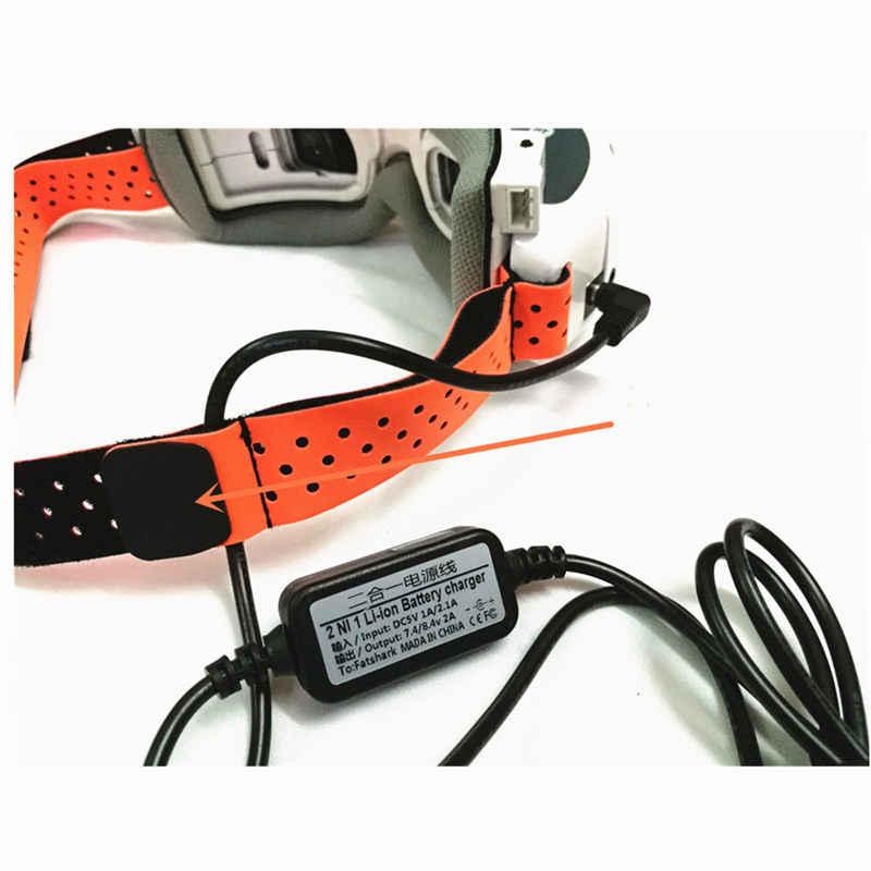 FPV lunettes tête sangle remplacement tissu pour fatrequin/URUAV FPV lunettes FPV RC Drone RC modèles pièce détachée bricolage accessoire