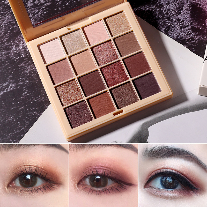 Beauty Essentials Beauty & Health Xixi Starry Eyeshadow Palette 9 Colors Gold Blue Pink Shimmer Pigment Waterproof Long Lasting Glitter Eyeshadow Powder Ac069