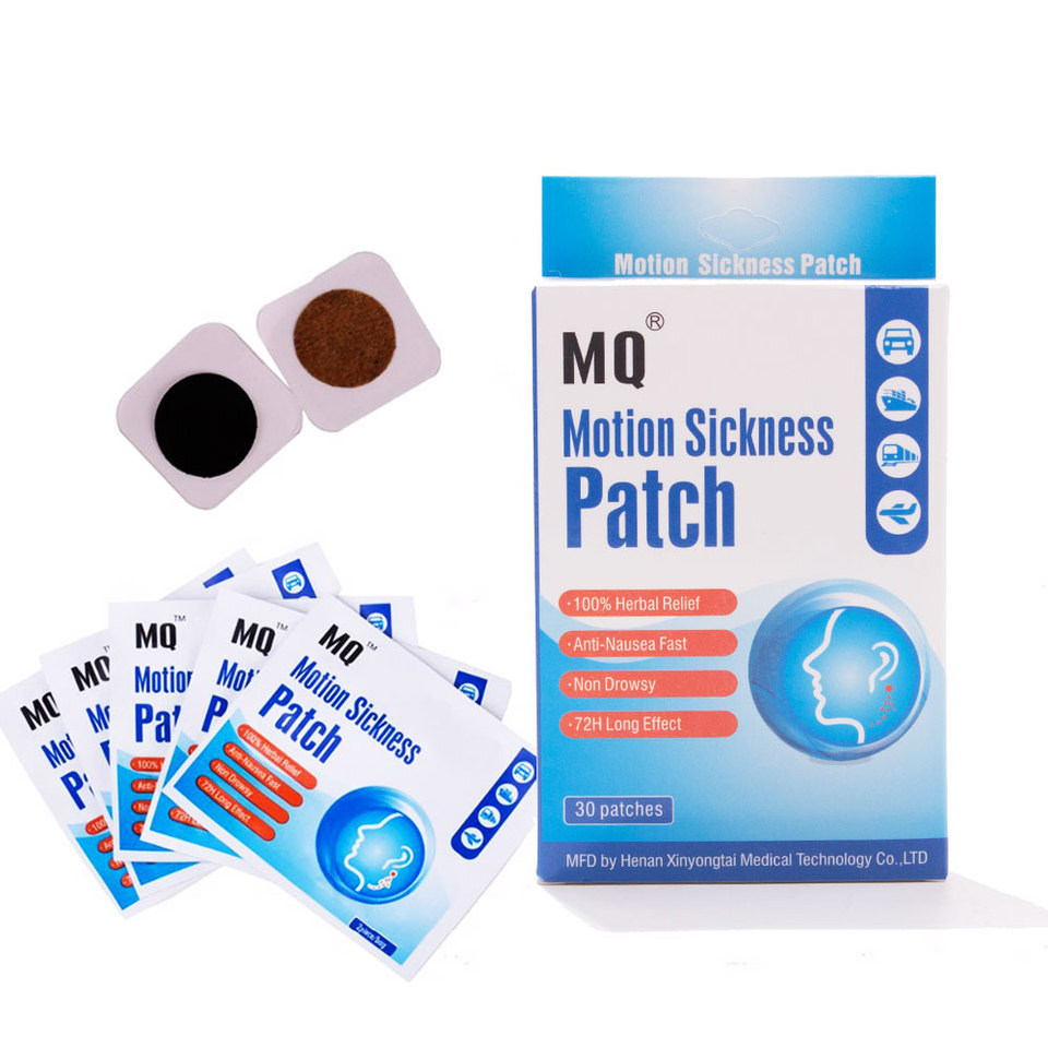 MQ Motion Sickness Patch Relieve Carsickness Airsickness Seasickness Anti  nausea Fast Non Drowsy Long Effect Travel Partner motion sickness motion  sickness patchanty patch - AliExpress