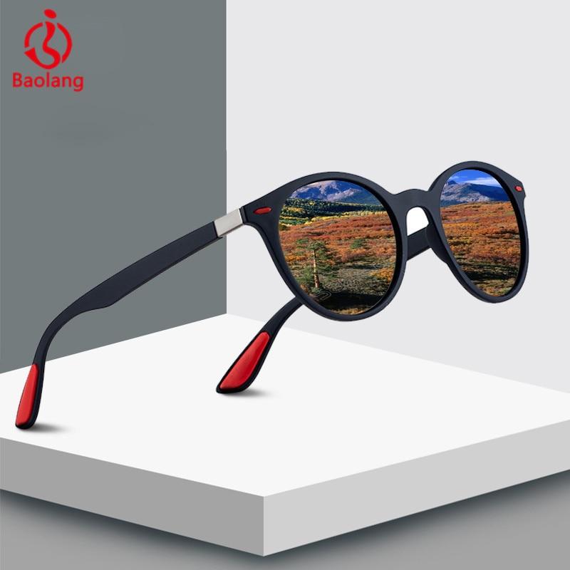 UV400 Polarized Sunglasses Men Driver Shades Male Vintage Sun Glasses For Women Round Sunglasses Glasse Oculos lunette de soleil