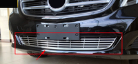 Front Bottom Bumper Grill Grille Cover Trim For Mercedes Benz Viano V Class W447 2014 2016