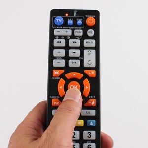 Image 5 - 45keys Universal Remote control with learn function, controller for TV,STB,DVD,DVB,HIFI,  L336 work for 3 devices.