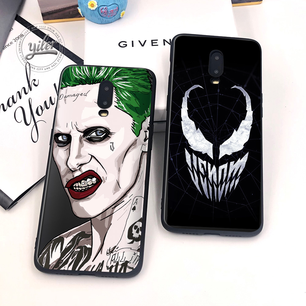 Inverse cartoon character Coque For Case Oneplus 6T 7 Sofe Black TPU Cases for 1+6T Shell Cover