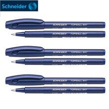 6 개/몫 슈나이더 Topball 847 볼펜 젤 펜 0.5mm 서명 펜 젤 펜 쓰기 용품 사무실 및 학교 용품
