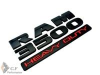 Car R M 3500 1500 Metal Red RAM 3500 Heavy Duty Badge Emblems NEW OEM MOPAR