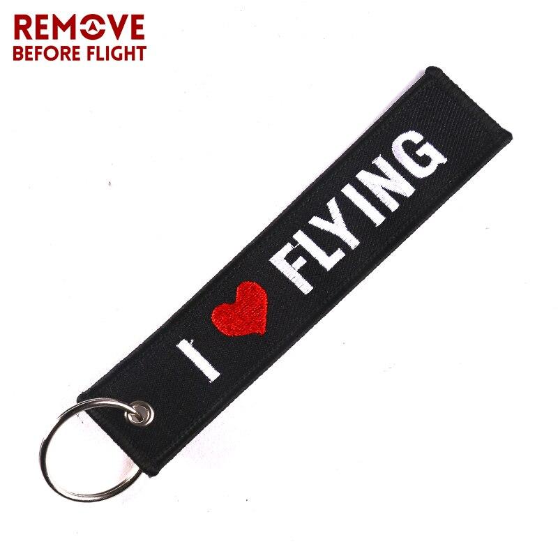 Remove Before Flight Car Key Holder OEM Keychain Jewelry