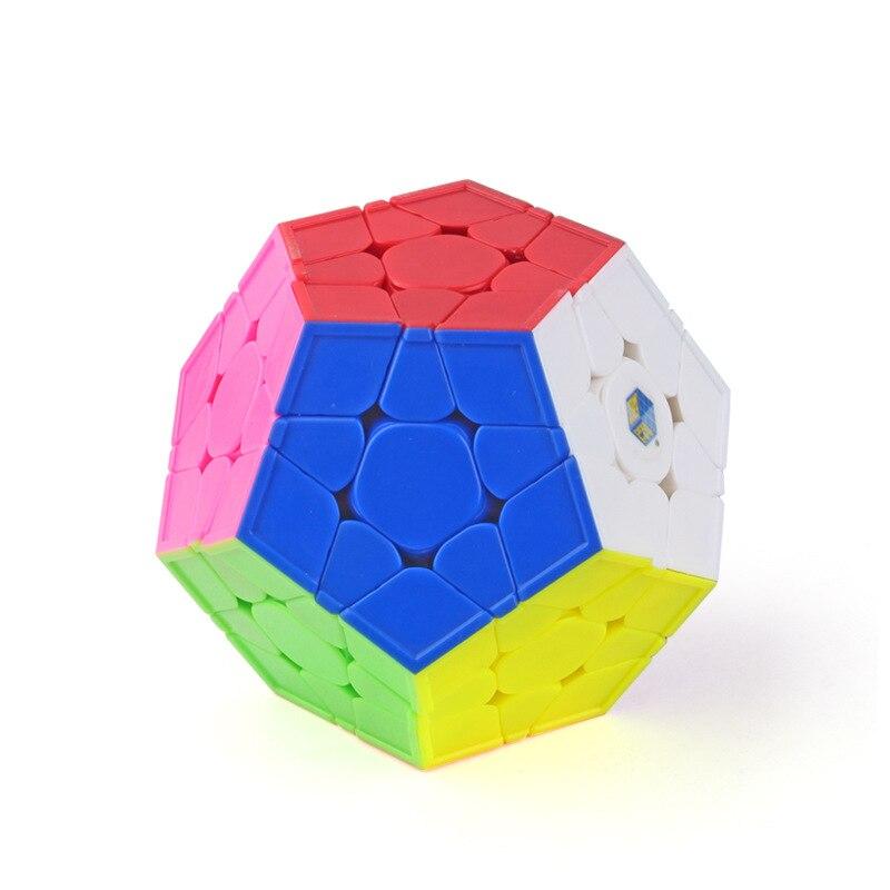 Cubes magiques Classique Puzzle Megaminx Anti-Stress Jouets Éducatifs pour Adultes et Enfants