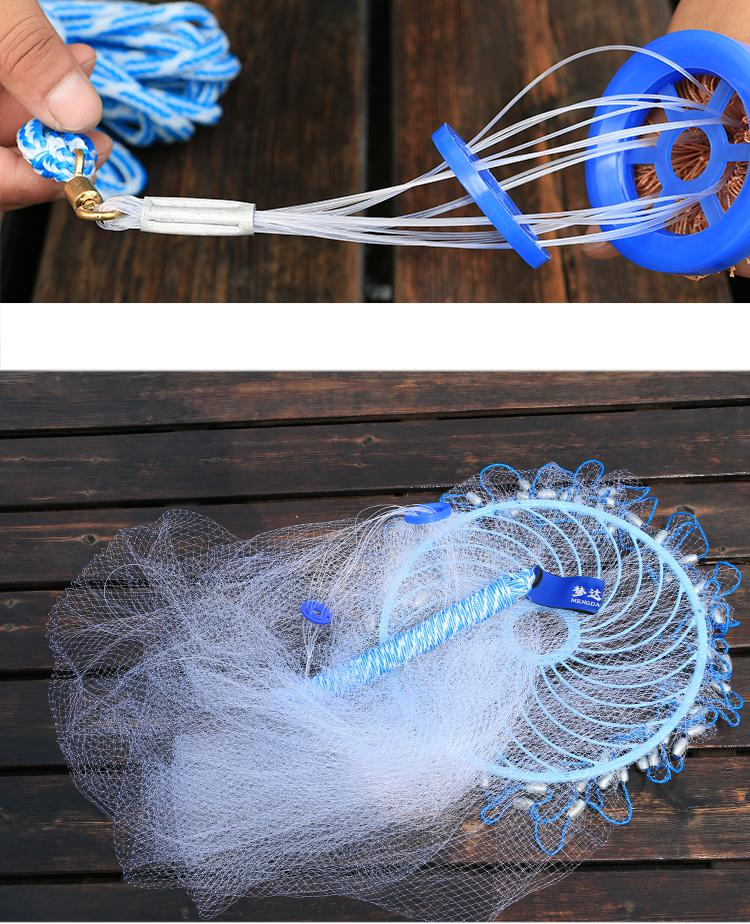 de vôo alta resistência rede pesca com
