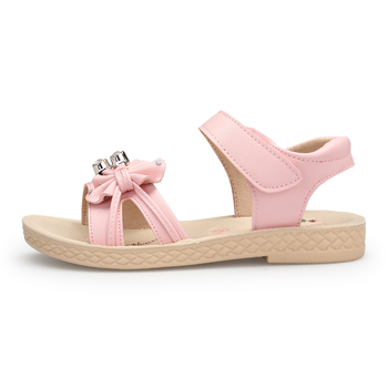 2018 New Kids Outdoor Sandals Summer Sneakers For Girl Soft Sole ballet flats Baby School Children Cut-outs Water Shoe Age 5-16